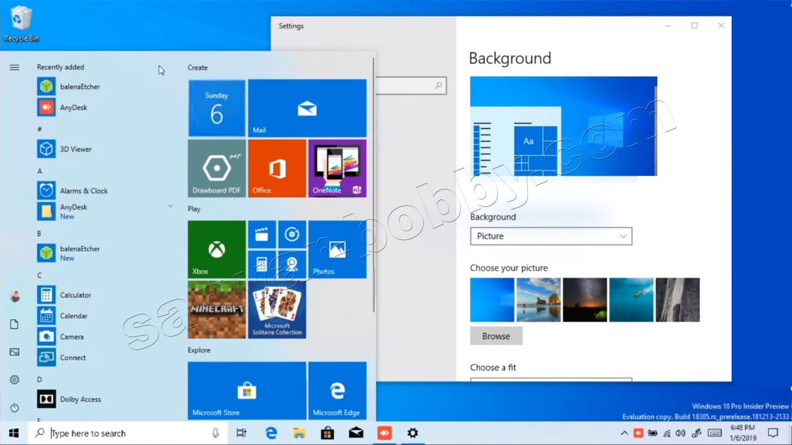 Windows 10 Pro x64 Bit 19H1 incl Office 2019-system-100% Working Download