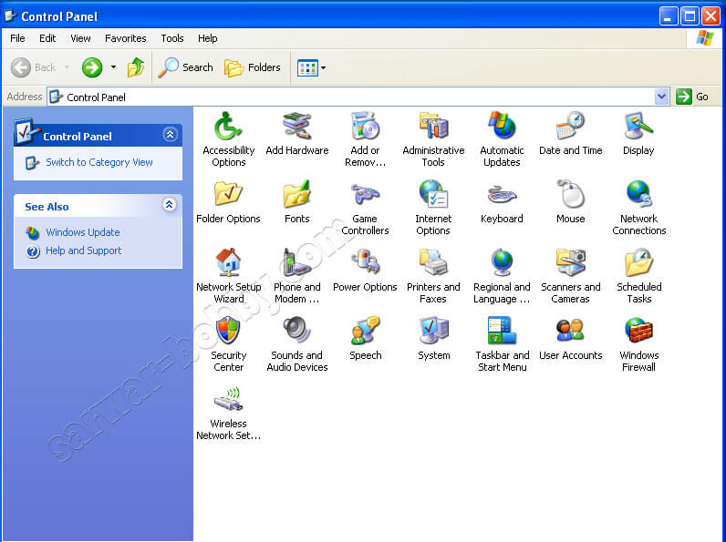 Windows XP PRO SP3 ISO bootable x86 Updated June 2019 Control Pane Free Download