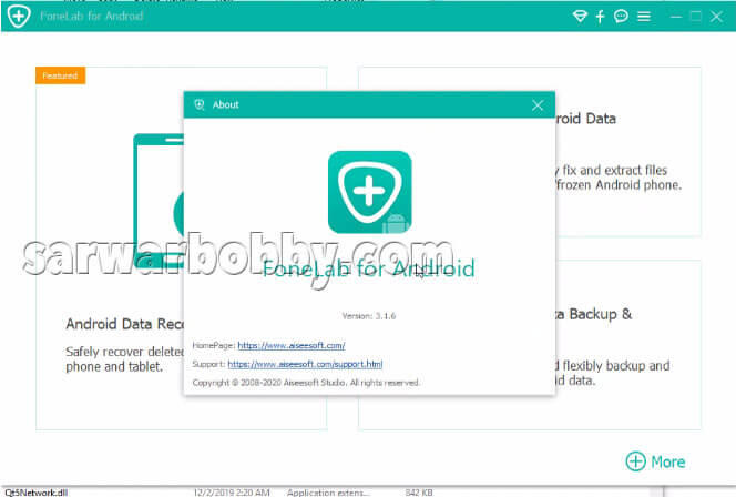 Aiseesoft FoneLab For Android 100% Works free Download