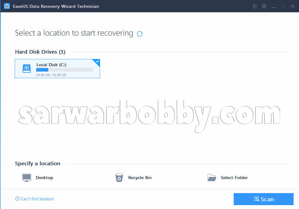 EaseUS Data Recovery Wizard 13 2020 Free Download