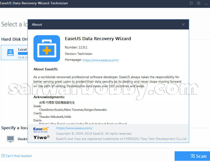 EaseUS Data Recovery Wizard 13 Latest Version Free Download