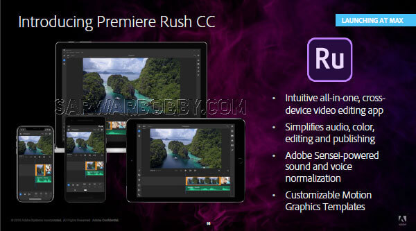 Adobe Premiere Rush CC 1.0.3 2020 Download - SarwarBobby.Com