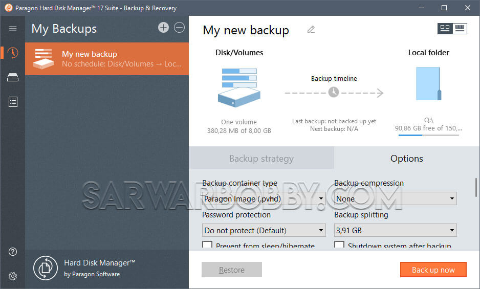 Paragon Hard Disk Manager 17 Advanced 17.13.0 Free Download - SarwarBobby.Com