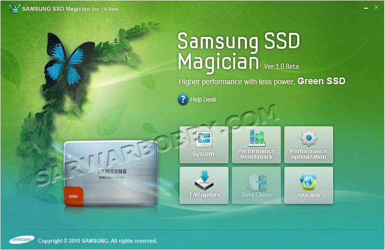 Samsung SSD Magician Tool 6.0.0.100 Latest Free Download - SarwarBobby.Com