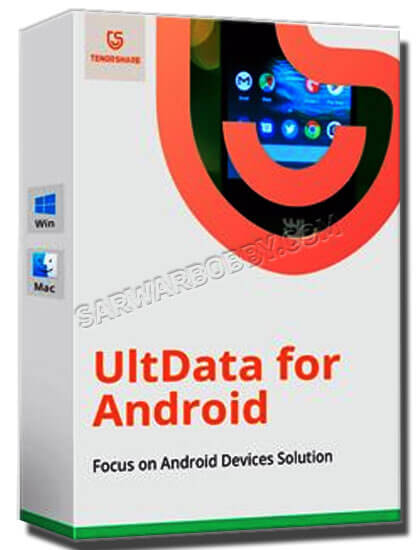 Tenorshare UltData for Android 6.0.0.20 Latest 2020 Version Free Download - SarwarBobby.Com