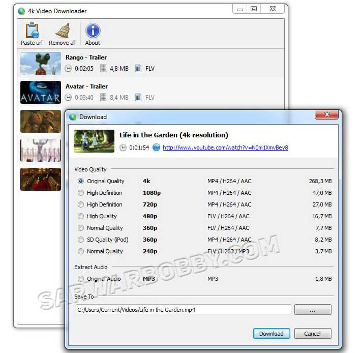 4k Video Downloader 4.12.0.3570 + Portable Latest 2020 Free Download - SarwarBobby.Com
