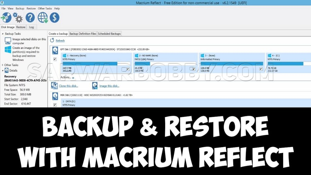 Macrium Reflect 7.2.4859 x86 Bit x64 Bit All Edition Free Download - SarwarBobby.Com