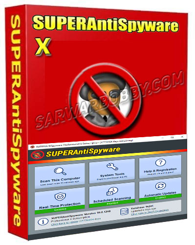 SUPERAntiSpyware Professional X 10.0.1208 Full Download - SarwarBobby.Com