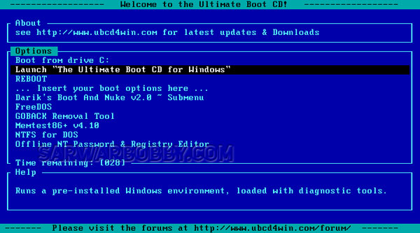Ultimate Boot CD 5.3.9 Download - SarwarBobby.Com