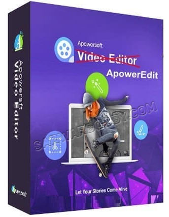 Apowersoft ApowerEdit Pro 1.6.5.17 + Portable bY SarwarBobby.Com