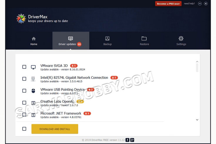 DriverMax Pro 12.11.0.6 Full + Portable Download - SarwarBobby.Com