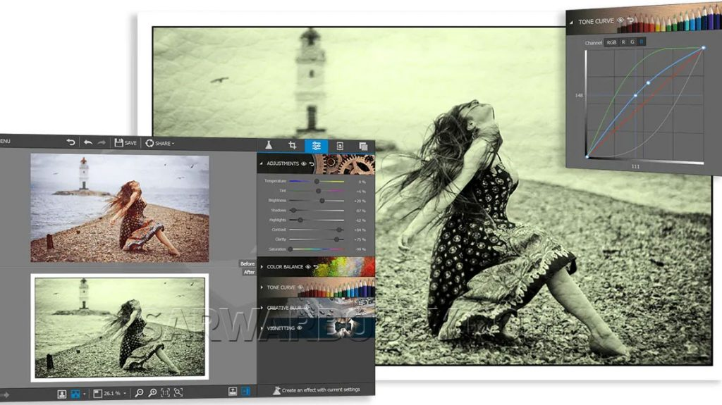InPixio Photo Editor 10.4.7557.31056 Free Download - SarwarBobby.Com