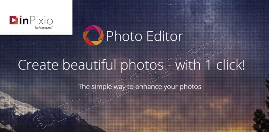 InPixio Photo Editor 10.4.7557.31056 + Portable Free Download - SarwarBobby.Com