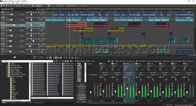 MAGIX ACID Pro Suite 10.0.3.24 Free Download - SarwarBobby.Com