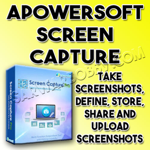Apowersoft Screen Capture Pro 1.4.9.6 Free Download - SarwarBobby.Com