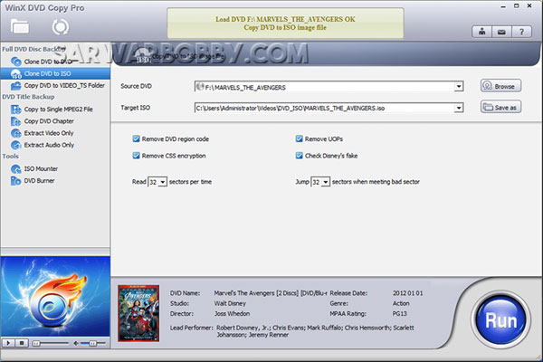 WinX DVD Copy Pro Full version Download - SarwarBobby.Com
