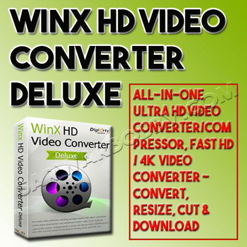 WinX HD Video Converter Deluxe 5 Free Download - SarwarBobby.Com