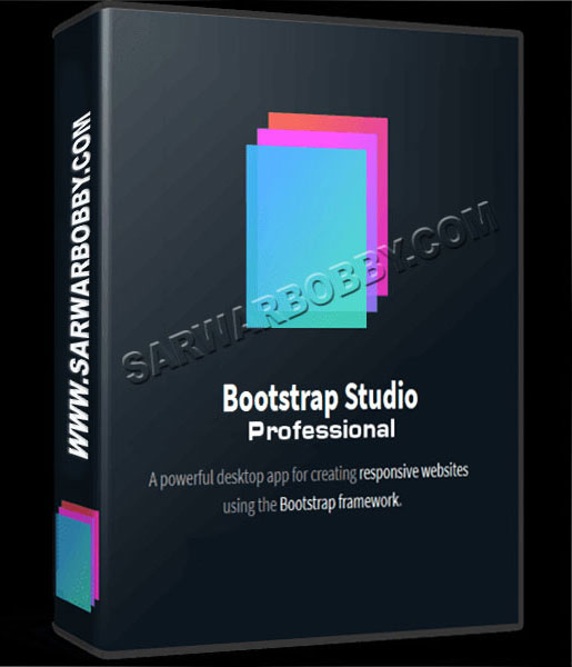 Bootstrap Studio 5.4.3 Professional Free Download - SarwarBobby.Com