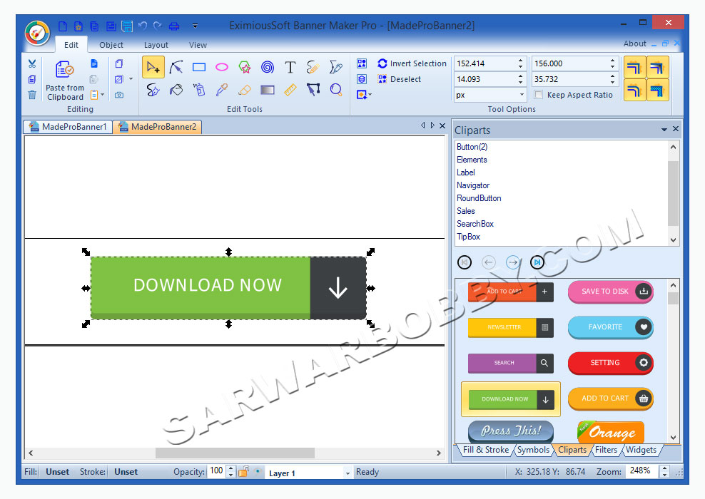 EximiousSoft Banner Maker Pro 3.69 Free Download Full Version 2 - SarwarBobby.Com