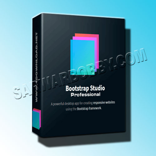 Bootstrap Studio 5.5.1 Professional Free Download - SarwarBobby.Com