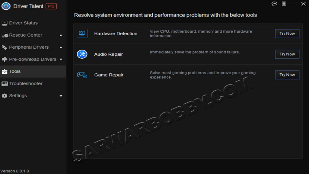 Driver Talent 8.0.1.8 PRO + Portable Free Download Full Version 2 - SarwarBobby.Com