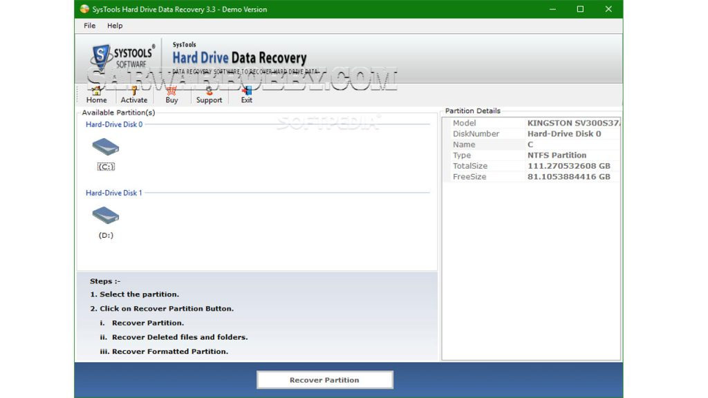 SysTools Hard Drive Data Recovery 16.3 + Portable Free Download 3 - SarwarBobby.Com