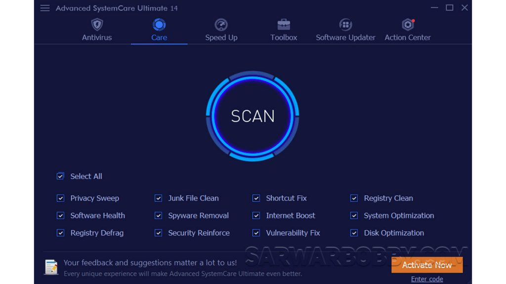 Advanced SystemCare Ultimate v14.2.0.157 Latest 2021 Free Download 2 - SarwarBobby.Com