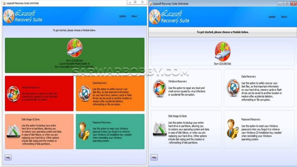 Lazesoft Recovery Suite 4.5.1 Professional Edition Latest 2021 Free Download 2 - SarwarBobby.Com