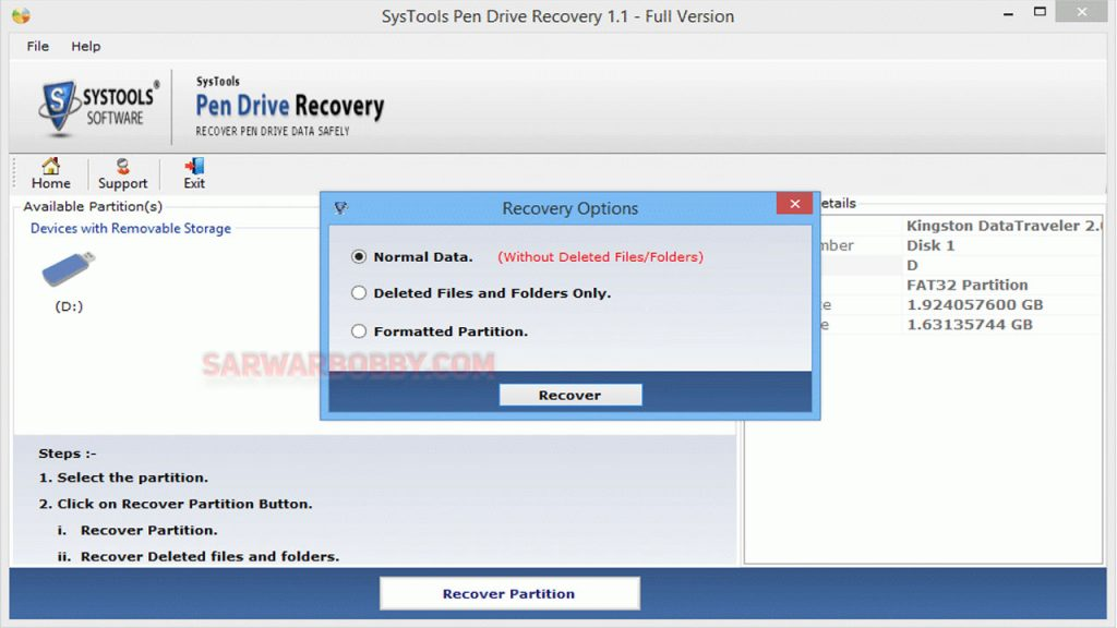 SysTools SSD Data Recovery 9.0.0.0 + Portable 2021 Free Download 4 - SarwarBobby.Com